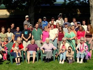 family-reunion at Cedar Valley