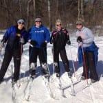 MSS 4 gals skiing